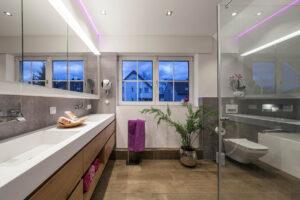 Boddenberg, Aqua Cultura Referenz, Dachbad, Waschplatz Wanne und Dusche