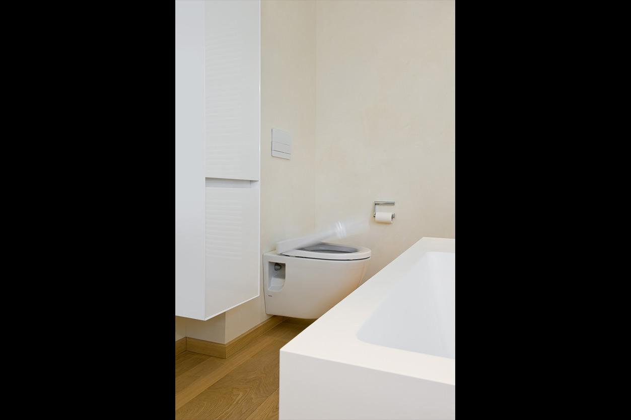 Dreyer Bad, Aqua Cultura Referenz, großes Bad, Wannenbad, WC Softclose