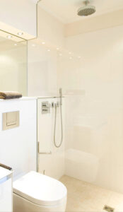 Bukoll Bad, Aqua Cultura Referenz, barrierefreies, altersgerechtes Bad,begehbare Dusche